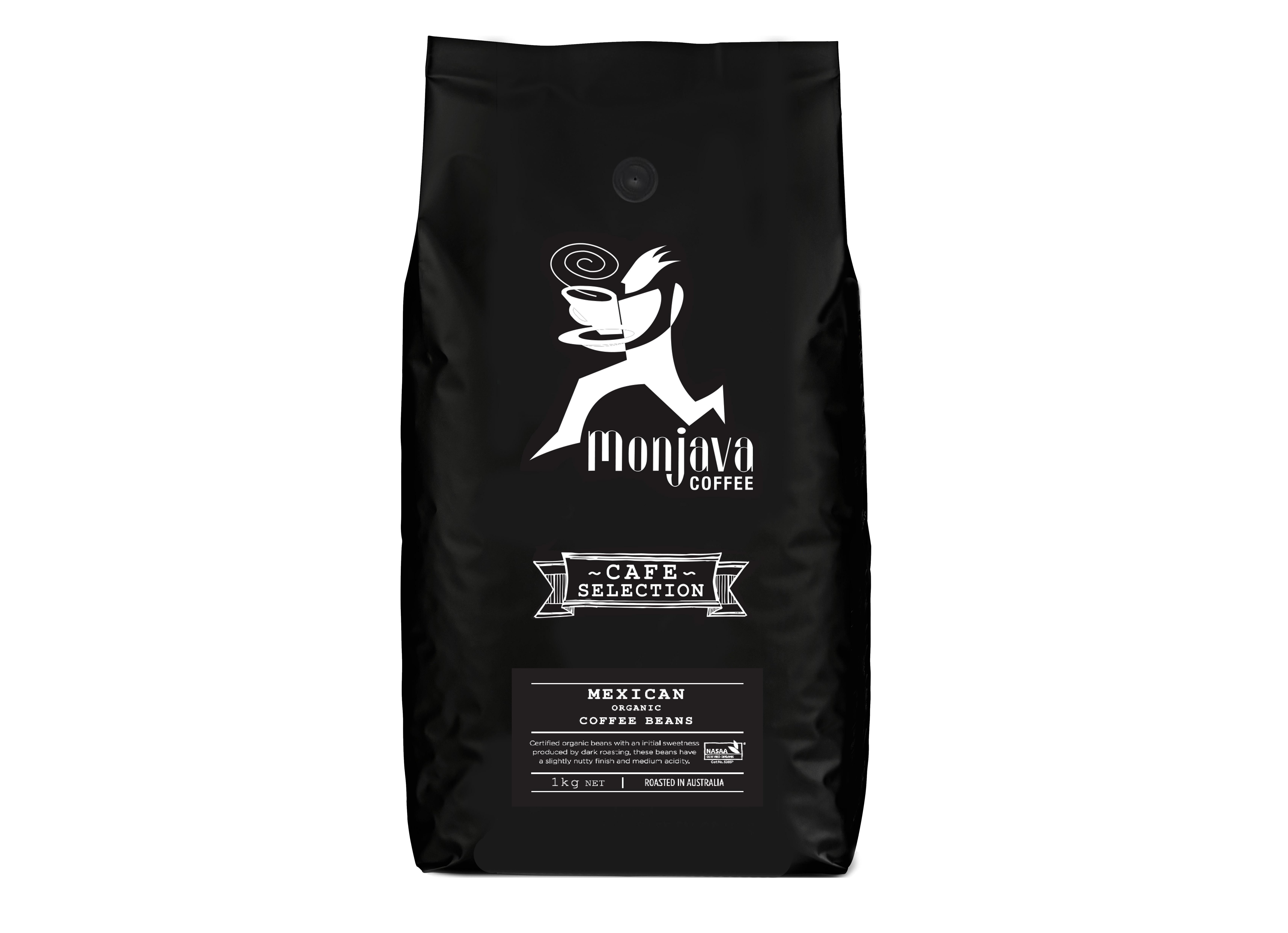 Monjava Cafe Mexican Organic 1kg - Nievole Distributors