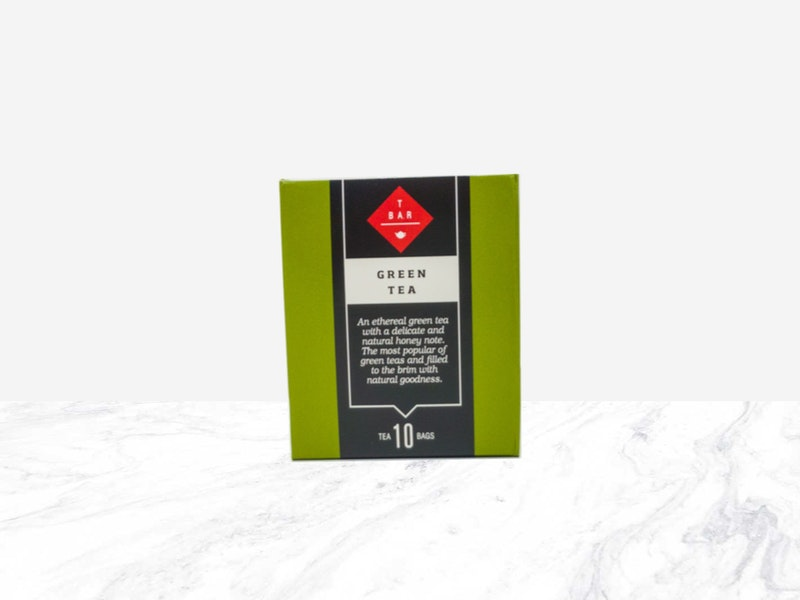 T BAR Green Tea Bags 10