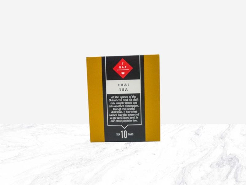 T BAR Chai Tea Bags 10