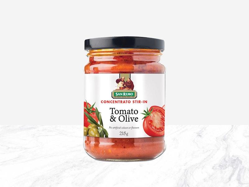 San Remo Concentrato Tomato and Olive Stir-In