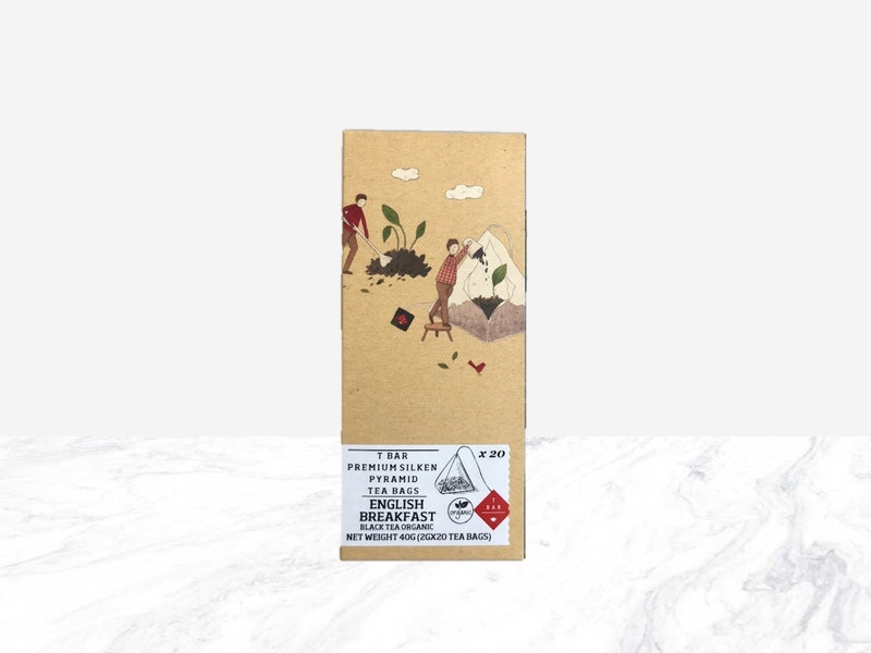 TBAR English Breakfast Silken Tea Bags