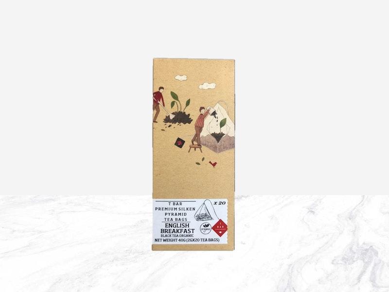 TBAR English Breakfast Silken Tea Bags